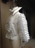 Garment designed and constructed by Shpetim Zero.