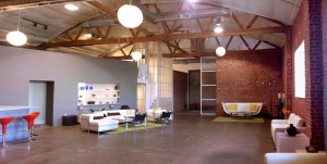 "A photo of TTS Studios, the soundstage where we shot ""Guys Reading Poems"""